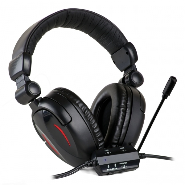 Ex-Display Gamekraft GX27 Vibration Headset PS3 Xbox 360 PC MAC Used - Like  New