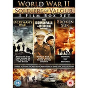 World War II - Soldiers of Valour 3 Disc DVD Boxset