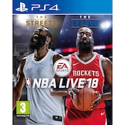 NBA Live 18 PS4 Game