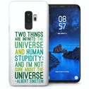 CASEFLEX SAMSUNG GALAXY S9 PLUS ALBERT EINSTEIN QUOTE CASE / COVER (3D)