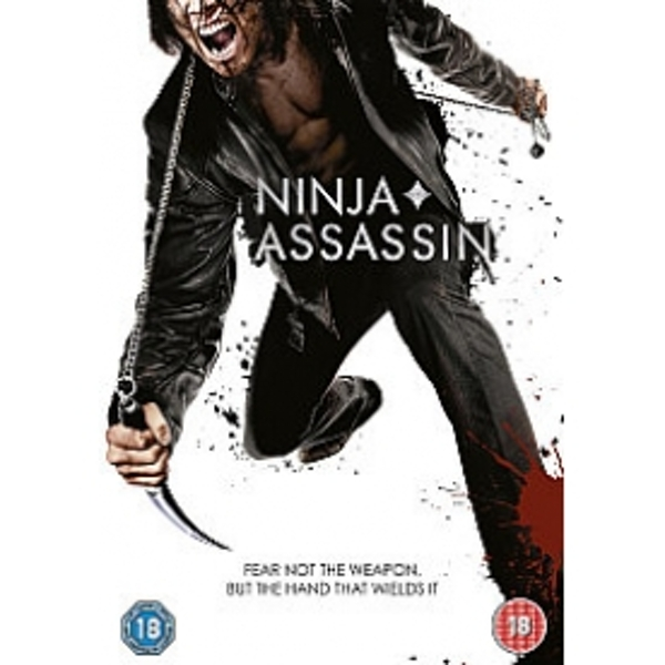 Ninja Assassin 2010 DVD
