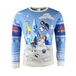 Adventure Time - Festive Winter Unisex Christmas Jumper X-Large - Image 5