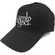 Lamb Of God - Logo Men's Baseball Cap - Black