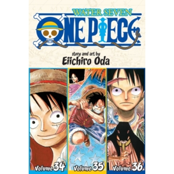 One Piece: Water Seven 34-35-36, Vol. 12 (Omnibus Edition) by Eiichiro Oda (Paperback, 2015)