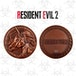 Unicorn Resident Evil 2 Limited Edition Metal Replica R.P.D. Medallion - Image 2