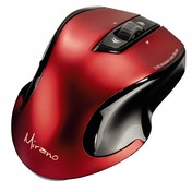 Hama Mirano Wireless Laser Mouse Noiseless Red/Black