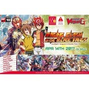 CardFight Vanguar G Raging Clash of the Blade Fangs Booster Box (30 Packs)