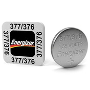 Energizer SR66/S53 377/376 Silver Oxide Coin Cell Watch Battery