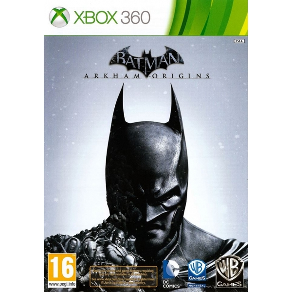 Batman Arkham Origins Game Xbox 360