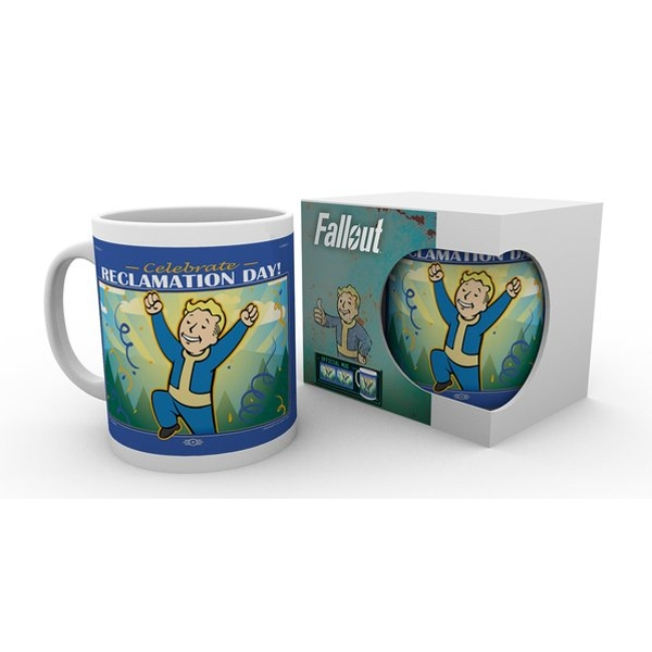Fallout 76 Reclamation Day Mug