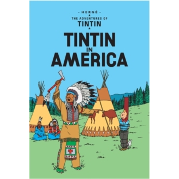 Tintin in America by Egmont Books, Herge (Paperback, 2002)