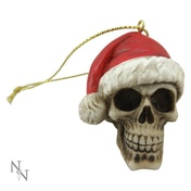 Silent Night Skull (Set Of 12 ) Baubles