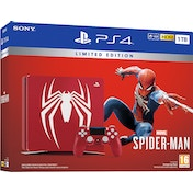Limited Edition Amazing Red Marvels Spider-Man 1TB PS4 Console
