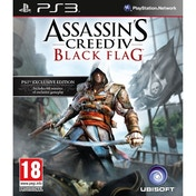 Assassin's Creed IV 4 Black Flag PS3 Game (Includes 60 Minutes of Extra Gameplay)