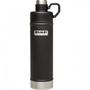 Stanley Classic Vacuum Water Bottle, Black - 750ml