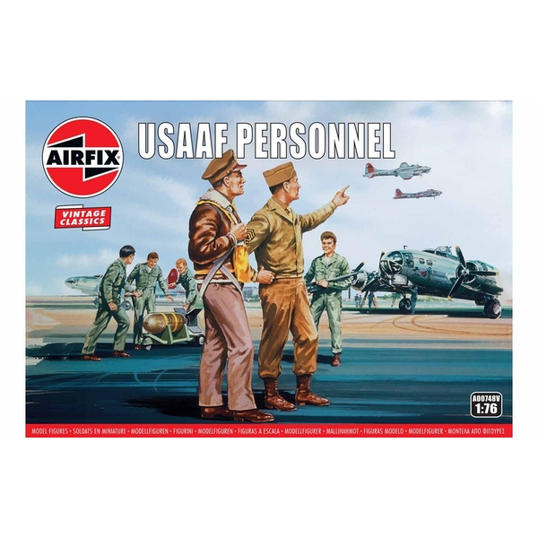 USAAF Personnel 1:76 Air Fix Figures