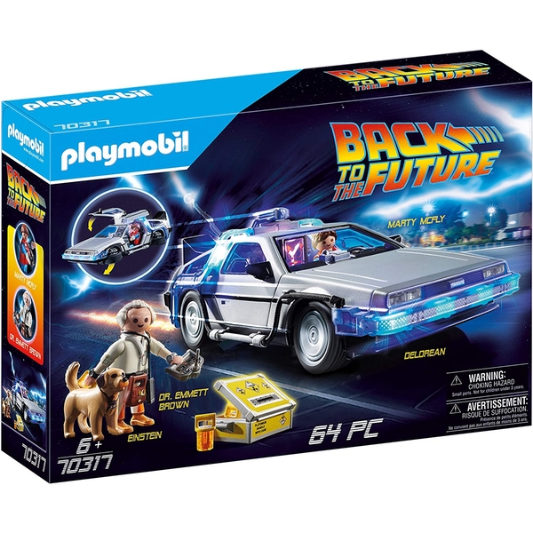 Playmobil Back to the Future DeLorean with Light Effects