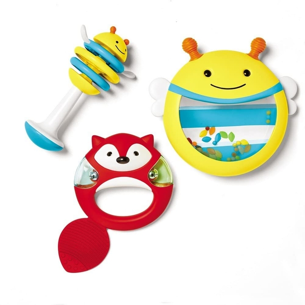 Skip Hop Explore and More Musical Instrument 3 Piece Set
