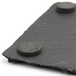 Natural Slate Placemats & Coasters | M&W 8pc - Image 6