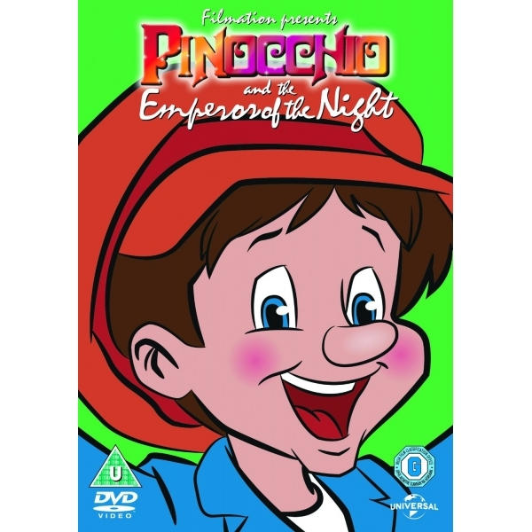 Pinocchio And The Emperor Of The Night - 2015 Big Face DVD