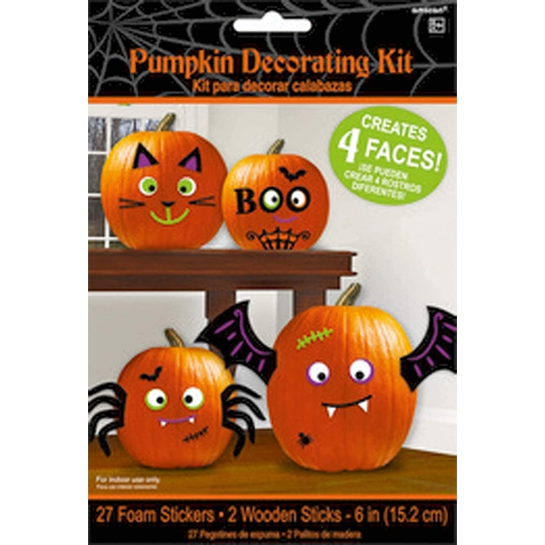 Amscan Pumpkins Decoration Set