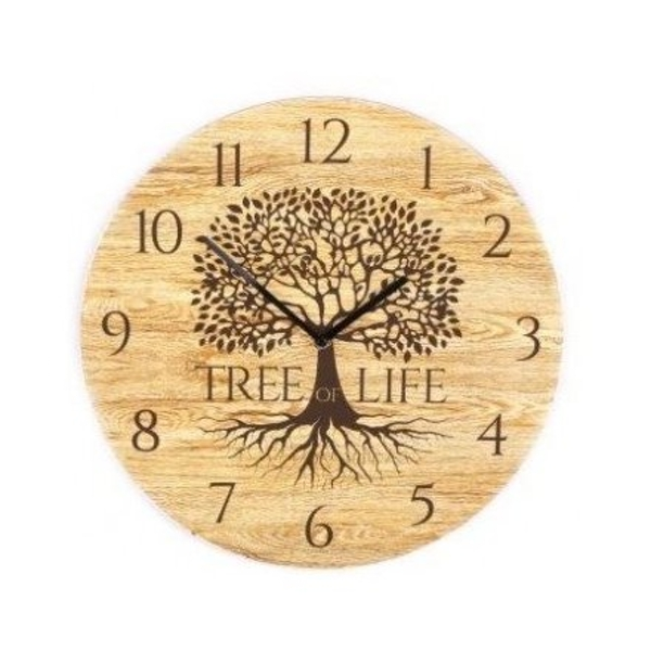 Tree Of Life Clock 30cm