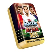 Match Attax 101 Football Trading Card Collection Mega Tin