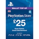 25 Playstation Network Card PSN UK PS3 & PS Vita & PS4