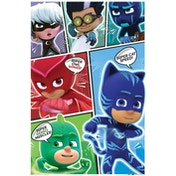 PJ Masks - Comic Strip Maxi Poster