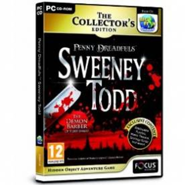 Penny Dreadfuls Sweeney Todd Collector's Edition Game PC