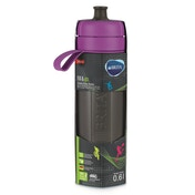 BRITA Fill & Go Active Water Bottle - Purple 0.6L
