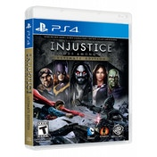 Injustice Gods Among Us Ultimate Edition Game Of The Year (GOTY) PS4 Game