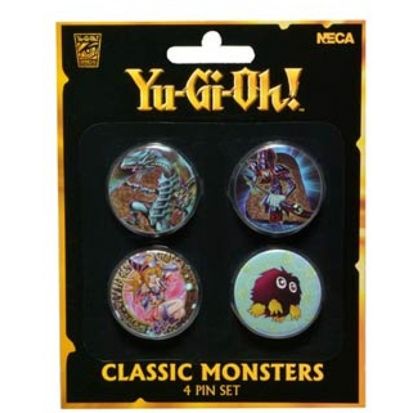 Yu-Gi-Oh! - Classic Monsters 4-Piece Pin Set