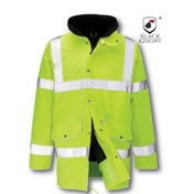 Black Knight Large Lancelote Executive 3/4 High Visibility Jacket - Yellow