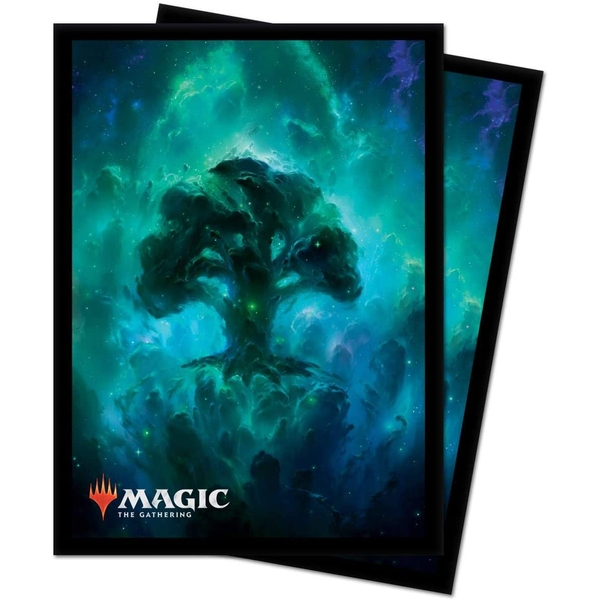 Ultra Pro Magic The Gathering Standard Deck Protectors Sleeves 100 Pack - Celestial Forest