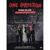 One Direction Where We Are Live From San Siro Stadium DVD