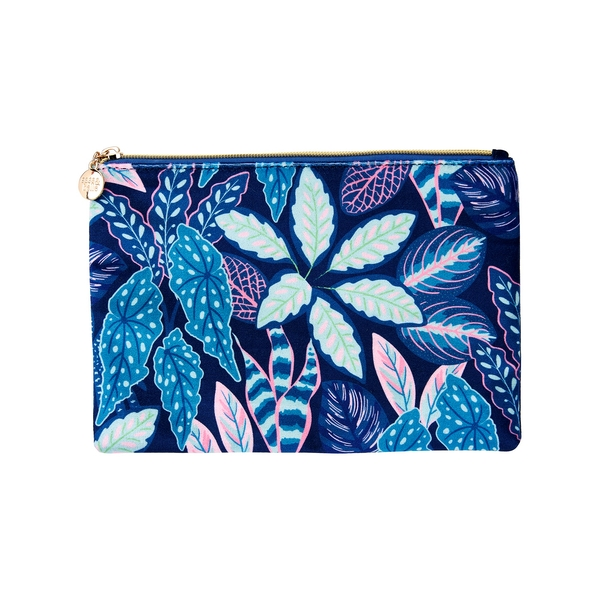 Sass & Belle Variegated Leaves Pouch