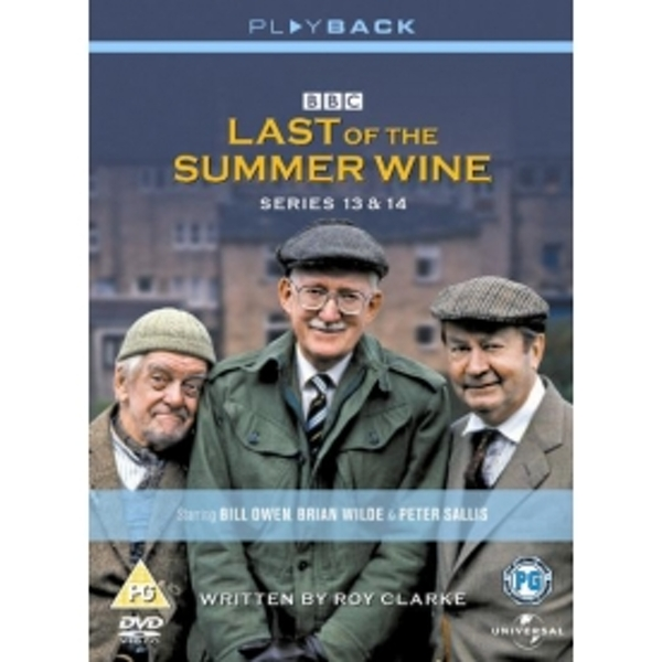 Last Of The Summer Wine Series 13-14 DVD