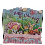 Happy Unbirthday (Alice in Wonderland) Disney Traditions Figure