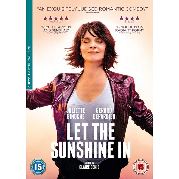 Let The Sunshine In DVD