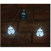 Ex-Display Star Wars Darth Vader & Stormtrooper Mixed 3D String Lights Used - Like New