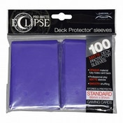 Ultra Pro Eclipse PRO-Matte Royal Purple Standard 100 Sleeves (case of 6)