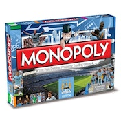 Manchester City Football Club Monopoly Board Game