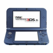 Ex-Display New Nintendo 3DS XL Handheld Console Metallic Blue (Bottom Plate Loose) Used - Like New