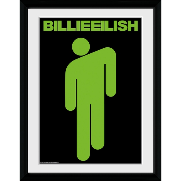 Billie Eilish - Stickman Collector Print