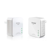 Tenda P200 200mbps Mini Powerline Kit Twin Pack UK Plug