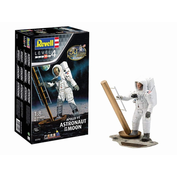 Apollo 11 Astronaut on the Moon 50th Anniversary First Moon Landing 1:8 Revell Model Kit