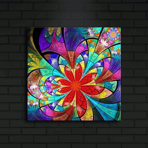 4040?ACT-9 Multicolor Decorative Led Lighted Canvas Painting