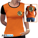 Dragon Ball - Kame Symbol Women's Small T-Shirt - Orange - Image 2