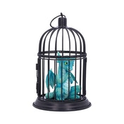 Turquoise Pet Caged Dragon Ornament